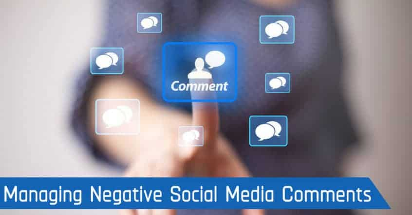 Managing Negative Social Media Comments