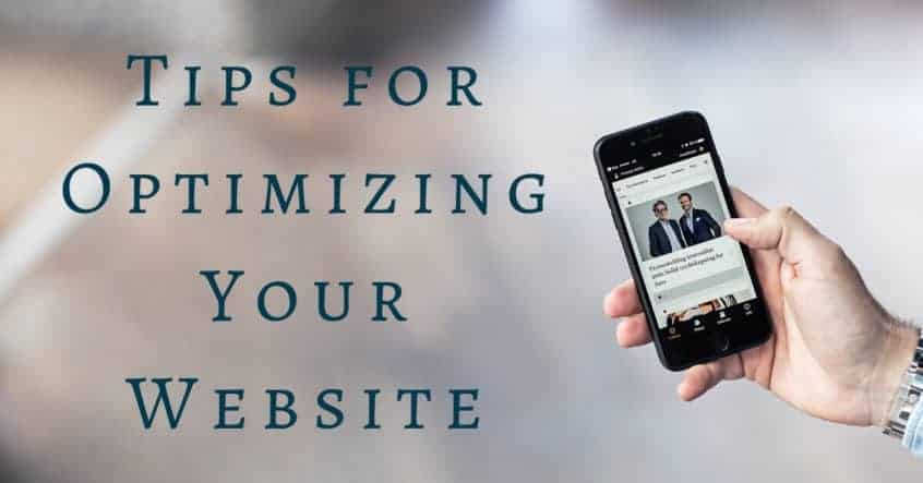 Tips for Optimizing Your Website