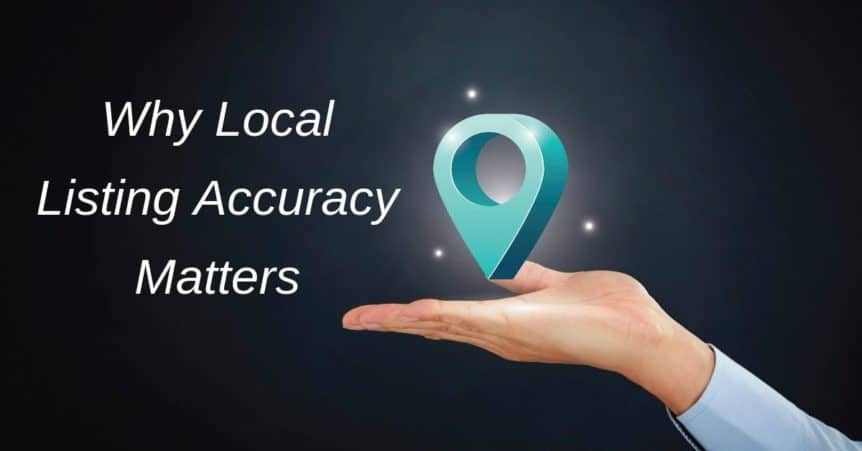 Why Local Listing Accuracy Matters
