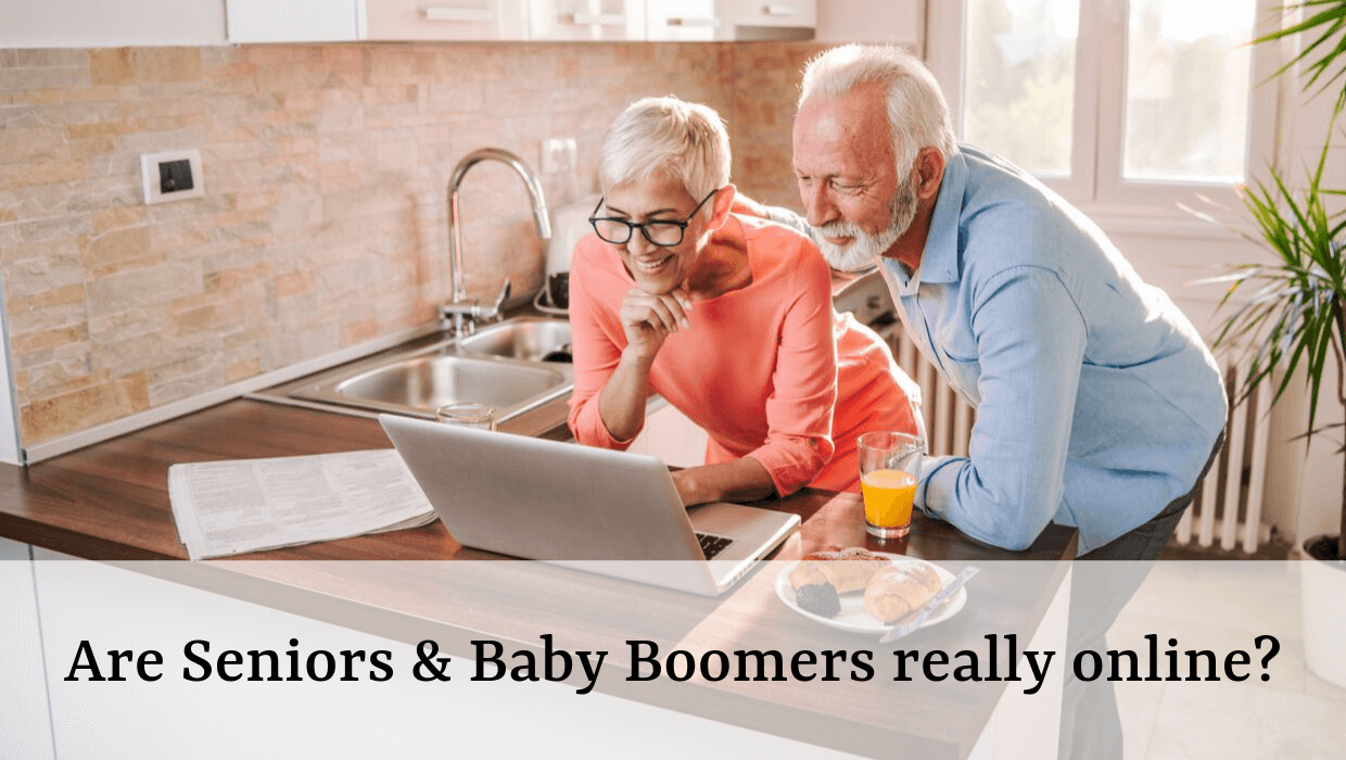 Ares Seniors & Baby Boomers Really Online?