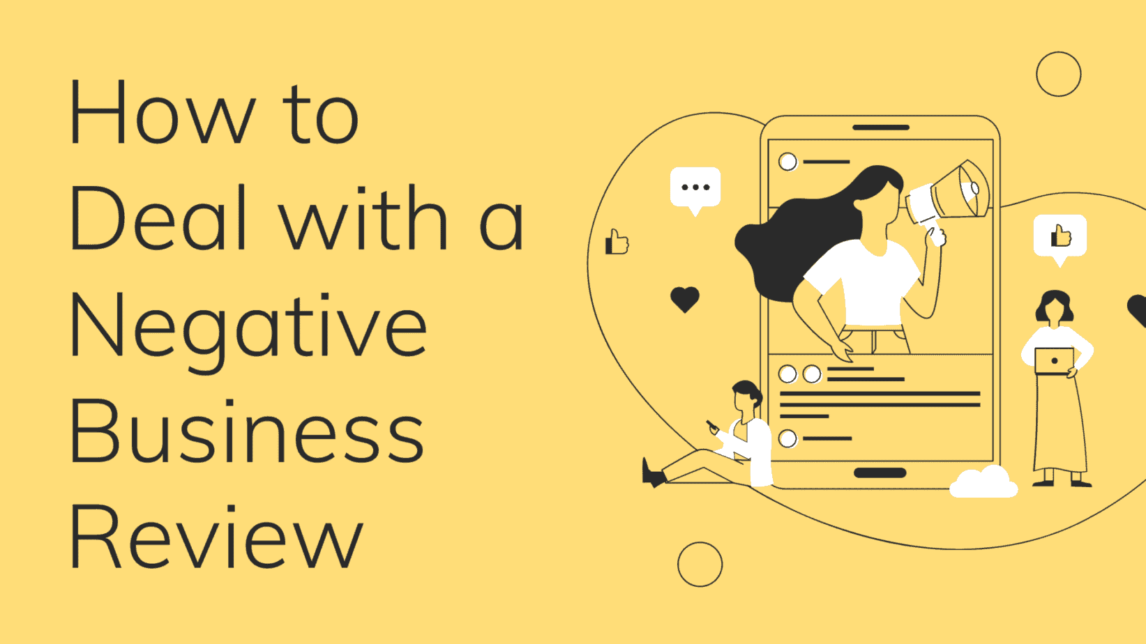 How to Deal with a Negative Business Review