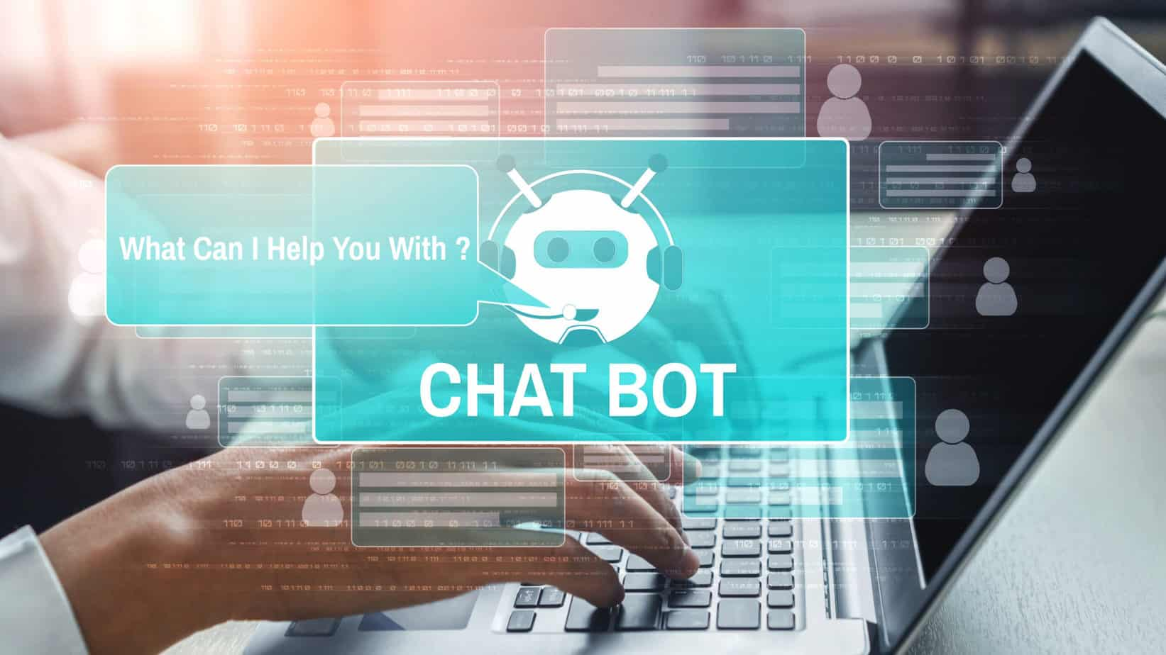 Chatbots for Audiology Websites Graphic