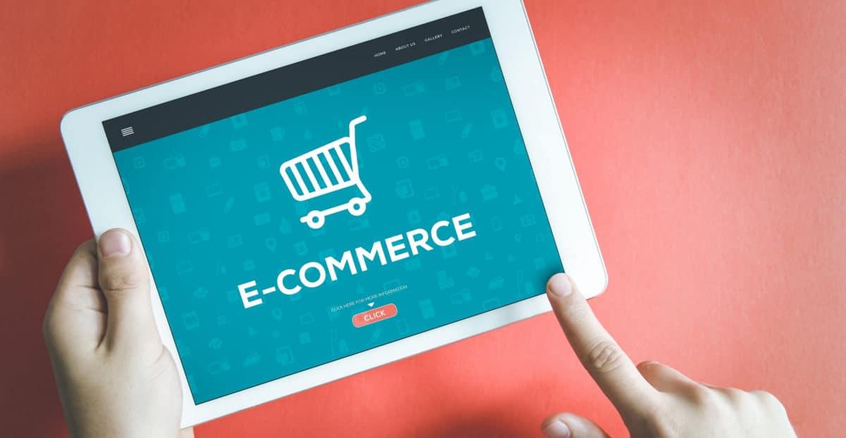 e-commerce setup photo